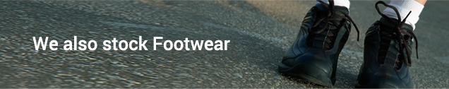 We also stock Footwear - click here to find out more