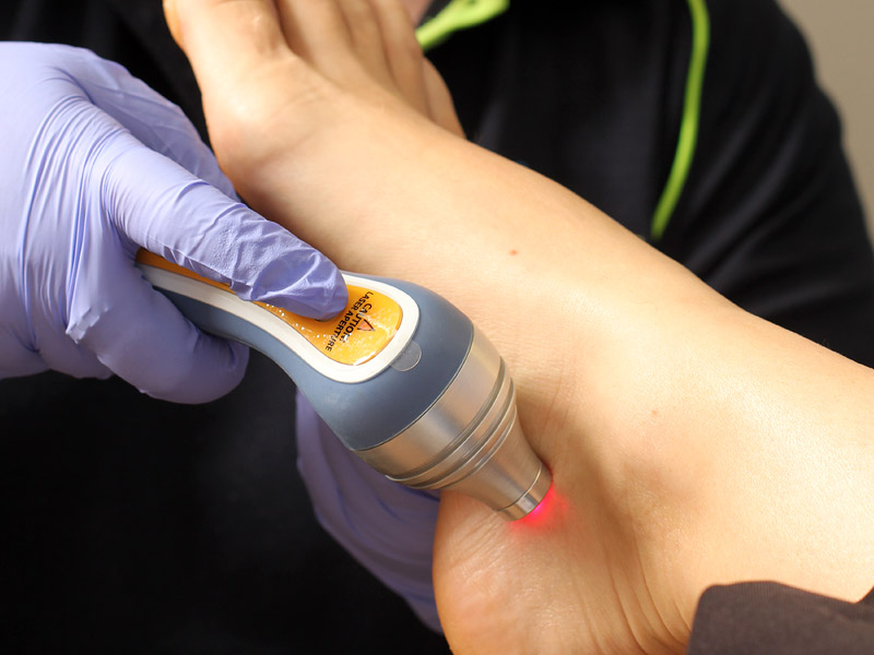 Low Intensity Laser Therapy - Low intensity laser therapy uses laser light to reduce inflammation and promote healing.
