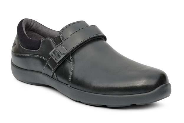 Women no 51 Casual Dress Velcro Black Front