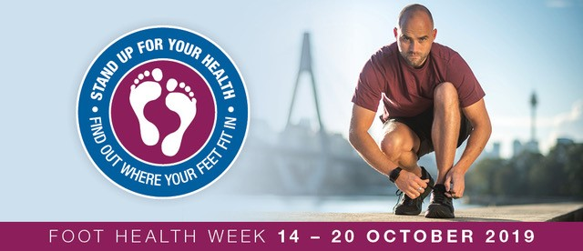 Foot Health Week 2019 - banner