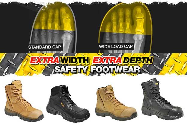 extra width workwear